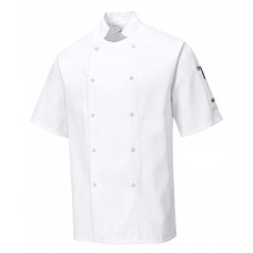 Chef Jacket S/Sleeve - White