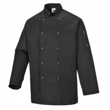 Chef Jacket L/Sleeve - Black