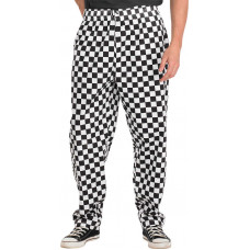 Chef Trousers - Black/White Check