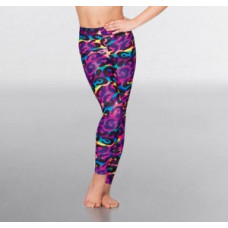 Dance Leggings - Animal Rainbow