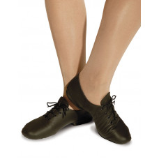 Dance Jazz Split Sole Shoes - Black