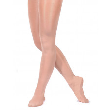 Dance Tights Shimmer (fullfoot) - Toast