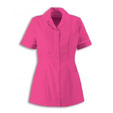 Tunic Ladies Classic Collar Bright Pink