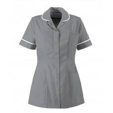 Tunic Ladies Classic Collar Hospital Grey