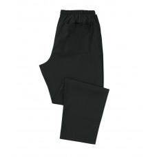 Scrub Trousers Black (Reg Leg)
