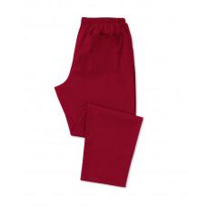 Scrub Trousers Burgundy (Short Leg)