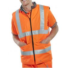 Hi-Vis Bodywarmer Orange