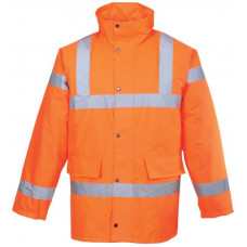 Hi-Vis Jacket Traffic Orange