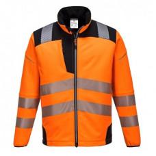Hi-Vis Jacket Softshell Orange/Black