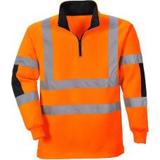 Hi-Vis Rugby Sweatshirt Orange