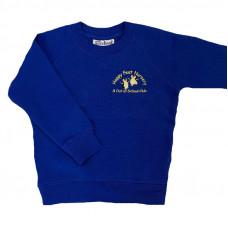 Happy Feet Nursery Crew Neck Sweatshirt - ROYAL