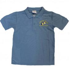 Happy Feet Nursery Polo Shirt - SKY