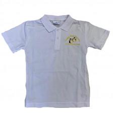 Happy Feet Nursery Polo Shirt - WHITE
