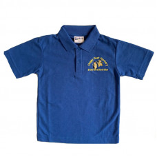 Happy Feet Nursery Polo Shirt - ROYAL