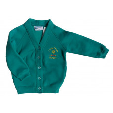 Little People Nursery Sweatshirt Cardigan