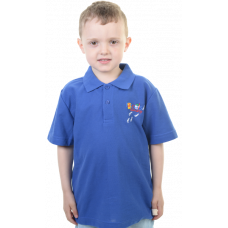 Rascals Nursery Royal Blue Polo Shirt