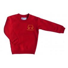 Rigside & Rural Communities Nursery Red Crew Neck Sweatshirt