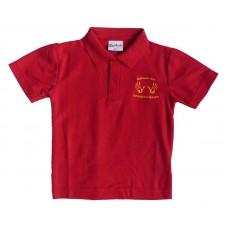 Rigside & Rural Communities Nursery Red Polo Shirt