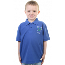 Woodpark Nursery Royal Blue Polo Shirt