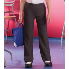 Girls Kirby Grey Trousers