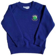 Black Mount Primary Crew Neck Sweatshirt