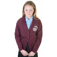 Braehead Primary Girls Sweatshirt Cardigan