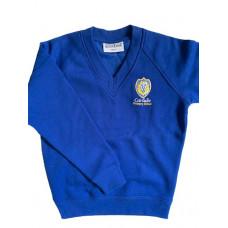 Carluke Primary V-Neck Sweatshirt