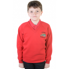 Carmichael Primary V-Neck Sweatshirt
