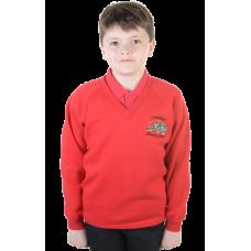 Carmichael Primary V-Neck Sweatshirt