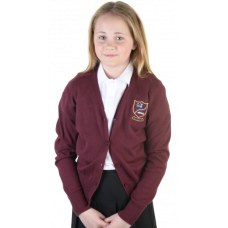Carstairs Junction Primary Cotton Cardigan