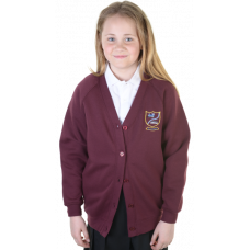 Carstairs Junction Primary Sweatshirt Cardigan