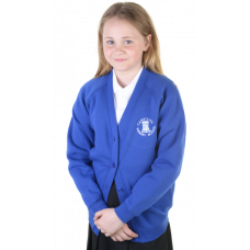 Carstairs Primary Girls Sweatshirt Cardigan