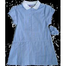 Girls Blue Summer Dress