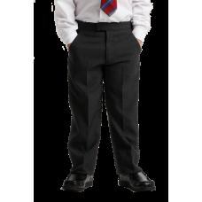 Boys Grey Sturdy Fit Trousers