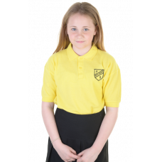 New Lanark Primary Yellow Polo Shirt