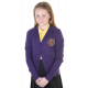 Robert Owen Primary Girls Cotton Cardigan