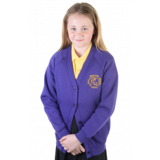 Robert Owen Primary Girls Sweatshirt Cardigan