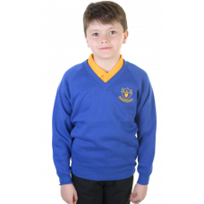 Rigside Primary V-Neck Sweatshirt