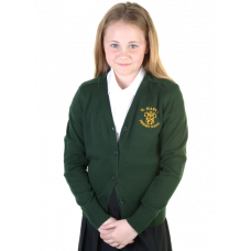 St Mary's Primary Girls Cotton Cardigan