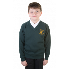 St Mary's Primary V-Neck Sweatshirt