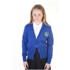 Underbank Primary Girls Cotton Cardigan