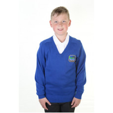 Underbank Primary Cotton V-neck Jumper