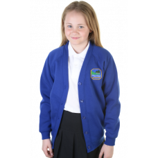 Underbank Primary Girls Sweatshirt Cardigan
