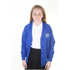 Woodpark Primary Girls Sweatshirt Cardigan