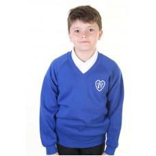 Woodpark Primary V-Neck Sweatshirt