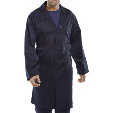 Warehouse Coat P/Cotton Navy