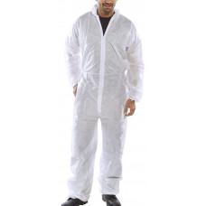 Disposable Boilersuit Standard White