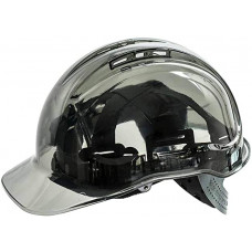 Safety Helmet Peak View Vented (translucent)