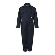 Boilersuit Zip P/Cotton Kids Navy (Infant)