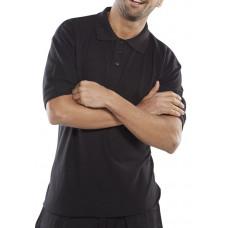 Polo Shirt Premium Black